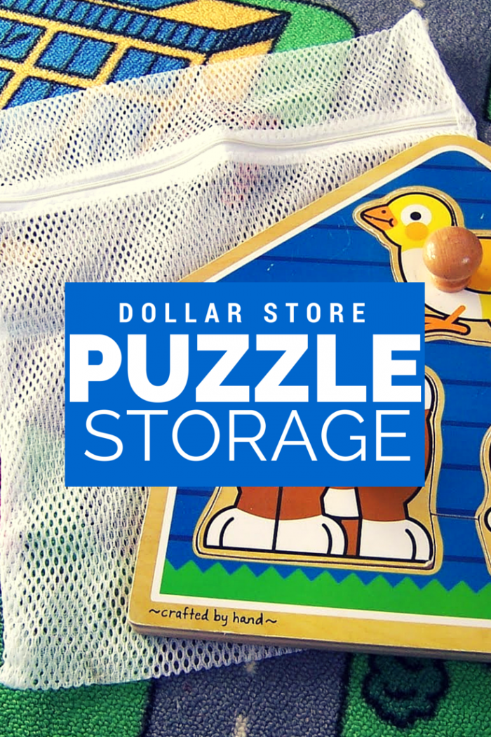 DOLLAR STORE PUZZLE STORAGE
