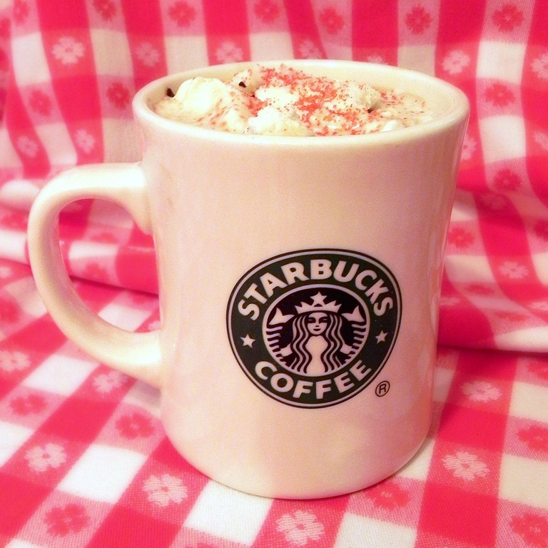 Starbucks Peppermint Mocha Knockoff (with Homemade Chocolate Mint Syrup)