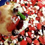 Greek 7 Layer Dip with Marzetti Otria