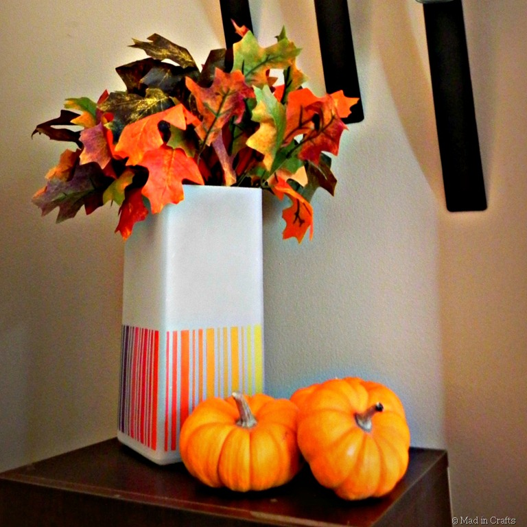 Fall-Inspired Ombre IKEA Lamp