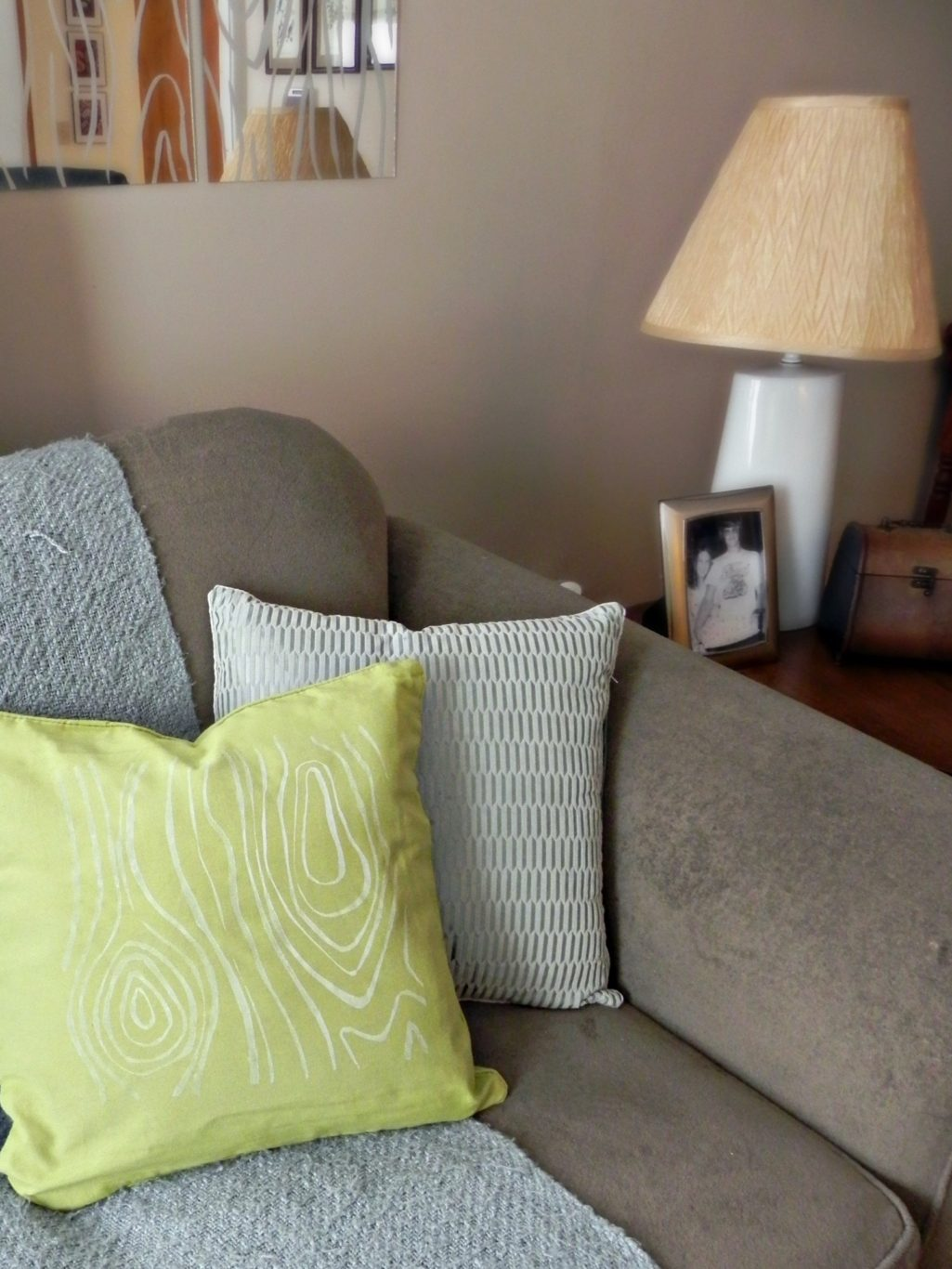 dollar store throw pillows mad in crafts. Black Bedroom Furniture Sets. Home Design Ideas