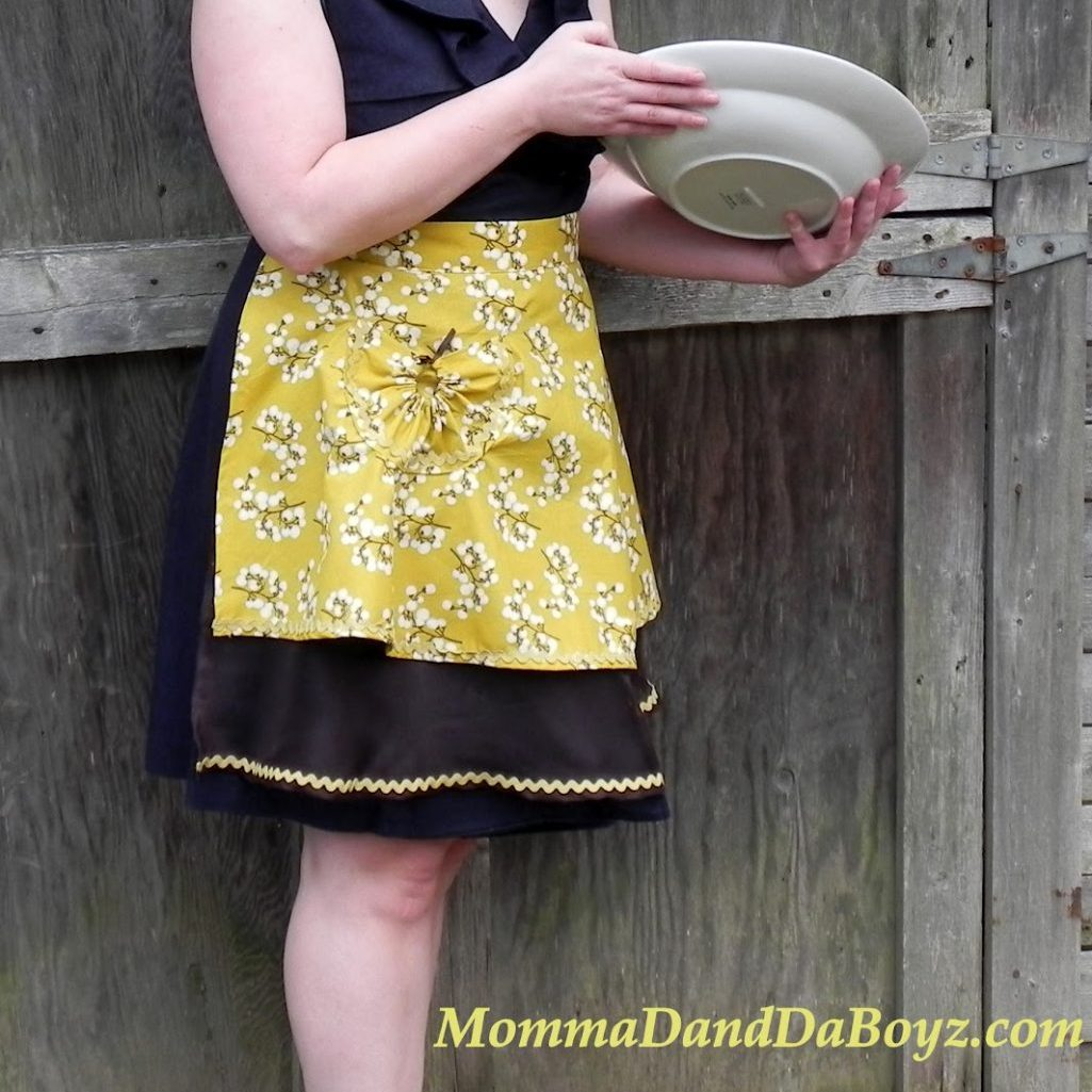Betty Draper Inspired Hostess Apron