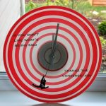 Mad Men Falling Man Quote Clock