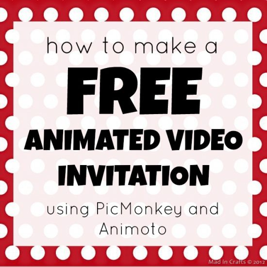 how to make a free animated video invitation