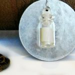 "Dollar Store ""Message in a Bottle"" Necklace (Valentine's Day Project)"