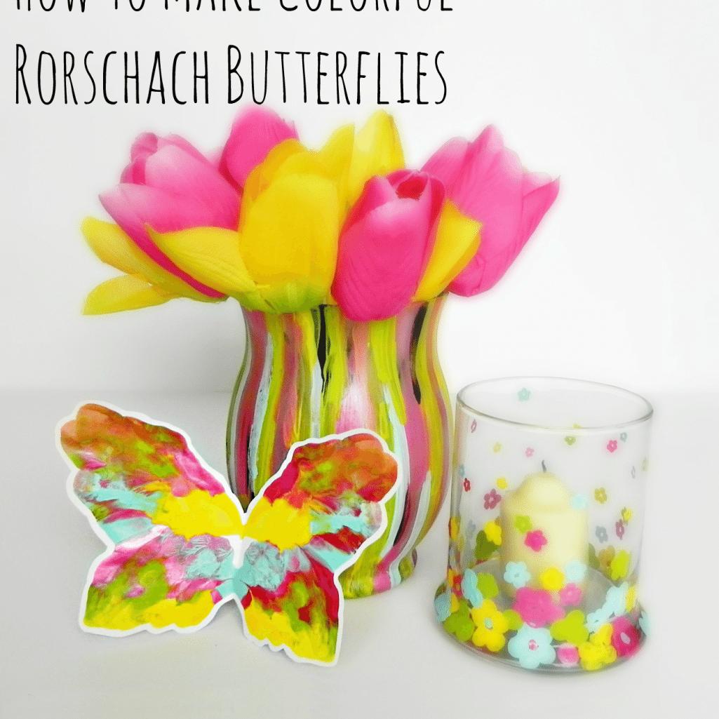 Fashion Designer Inspired Rorschach Butterflies