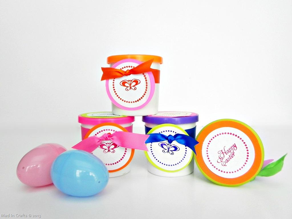 Non-Candy Easter Basket Filler: Play Dough