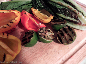 grilled salad vegetables