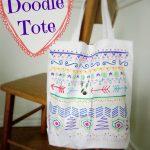 Totes Adorbs: Simple Doodle Tote Bag