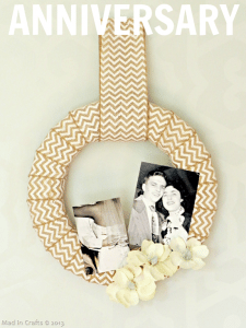Year-Round Vintage Photo Wreath