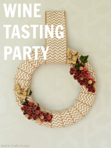 Year-Round Wine Wreath