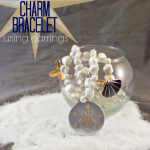 DIY Nautical Charm Bracelet Using Earrings