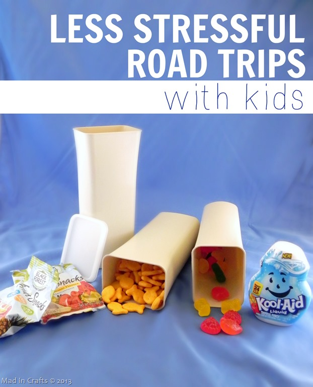 Less Stressful Road Trips with Kids