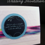 Make a Wedding Card from the Wedding Invitation