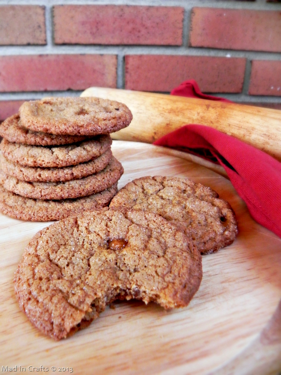 Brown Butter and Salted Caramel Snickerdoodles - Mad in Crafts