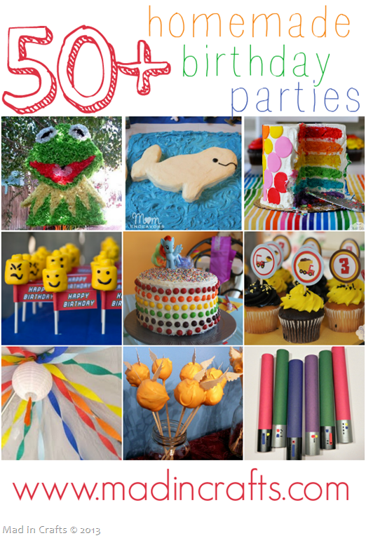 50+ Homemade Birthday Parties