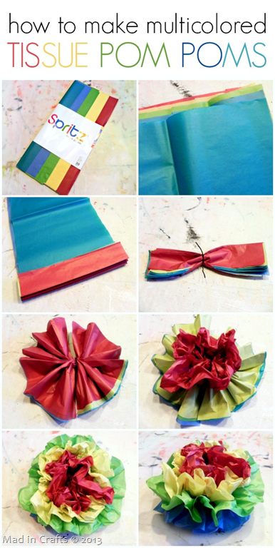 How-to-Make-Multicolored-Tissue-Pom-