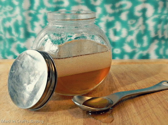 Make your own coconut honey hair mas
