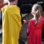 t-shirt capes