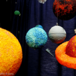 DIY Star Wars Planet Mobile