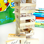 Seuss Word Jenga Game (and Other Seuss Crafts)