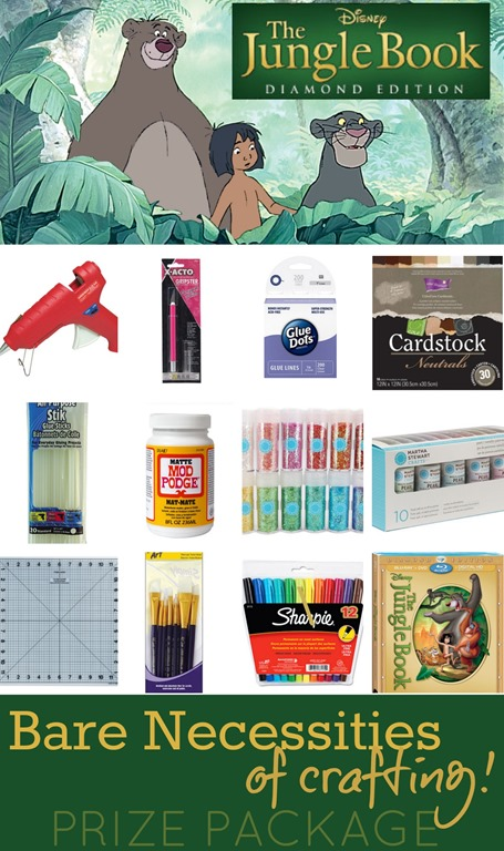 Bare Necessities (of Crafting) Giveaway
