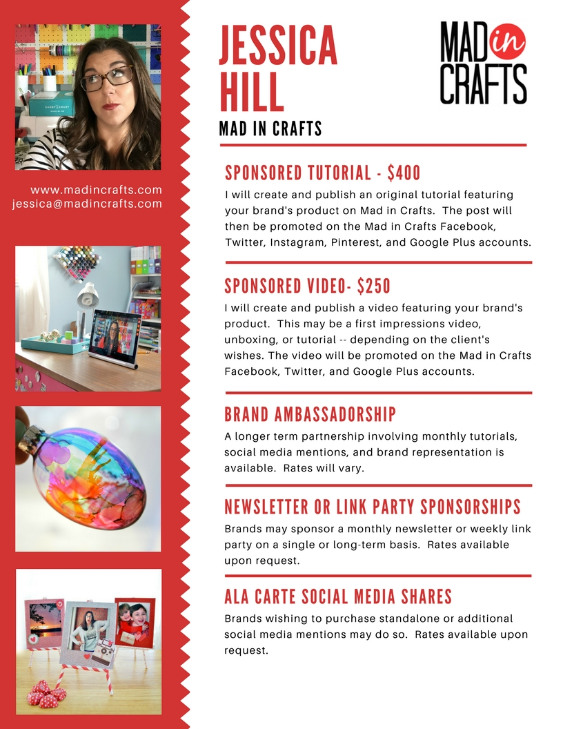 Mad in Crafts 2017 Media Kit