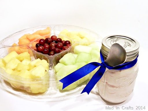 fresh fruit and easy dip