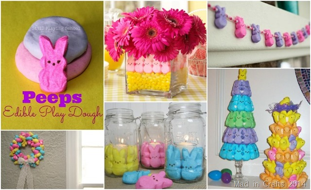 Crafts made with Peeps