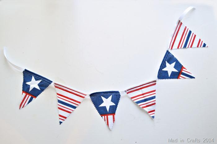 15 minute patriotic bunting