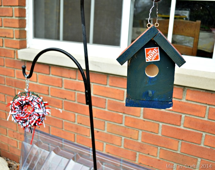SET UP A BIRD NESTING STATION