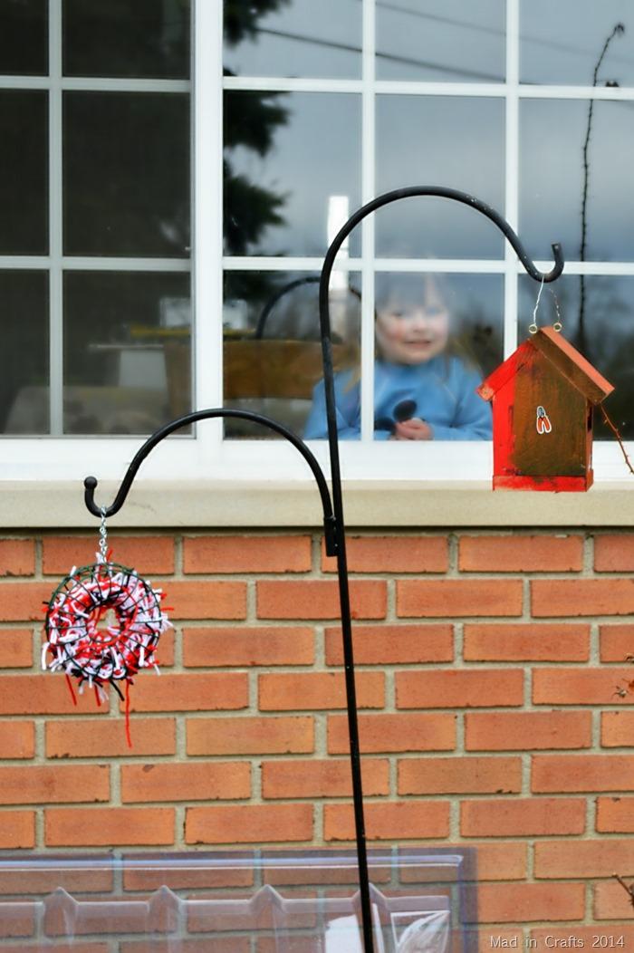 Birdhouse for birdwatching