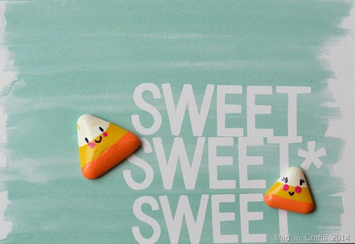 Cute Clay Candy Corn