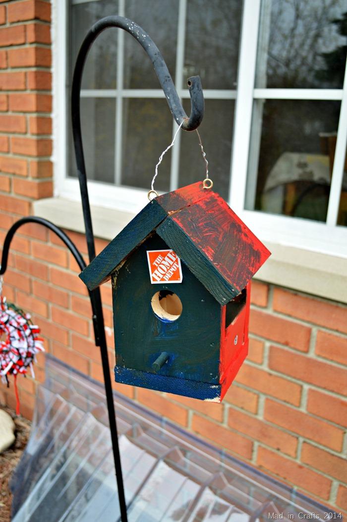 Kid Built Birdhouse