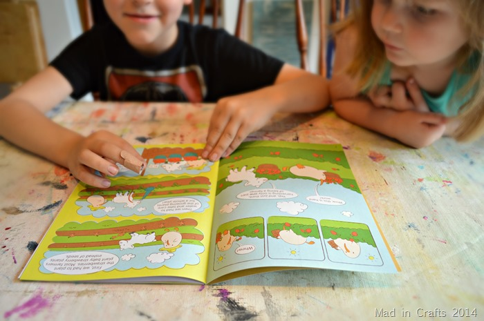 Kiwi Crate reading #KiwiSummerFun #ad