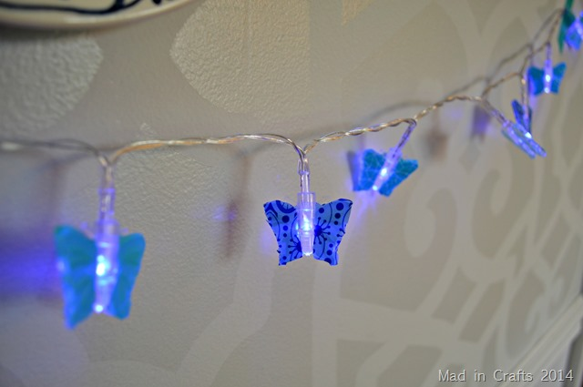 DIY WASHI TAPE FAIRY LIGHTS