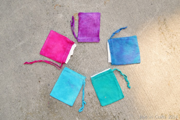 Dyed Canvas Bags
