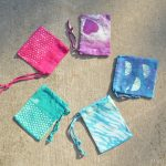 DYED & BLEACHED DRAWSTRING BAGS