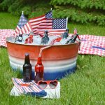 OMBRE SPRAY PAINTED PARTY TUB