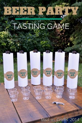 Craft Beer Games Tasting