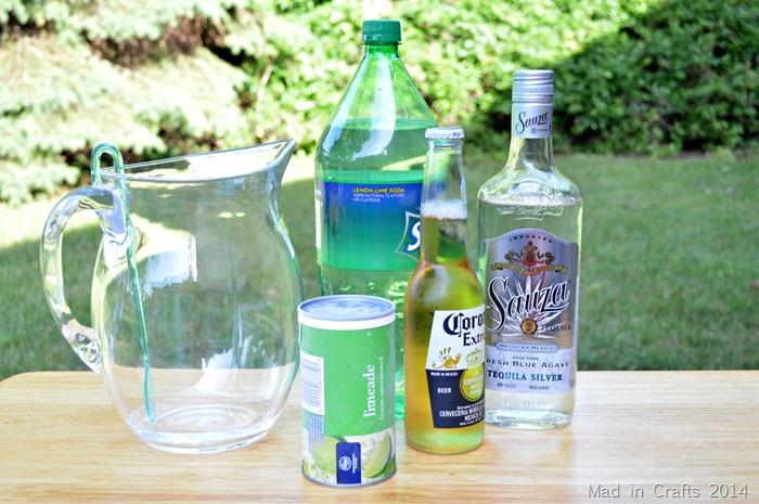 Beer Margaritas Ingredients