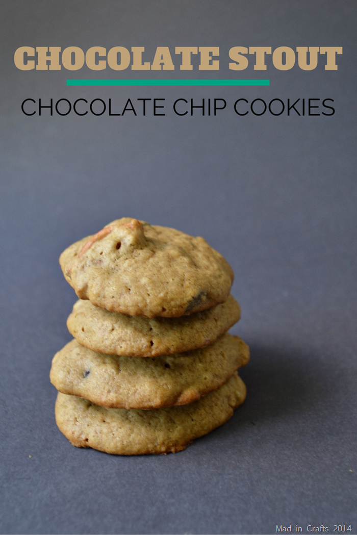 CHOCOLATE STOUT CHOCOLATE CHIP COOKIE RECIPE