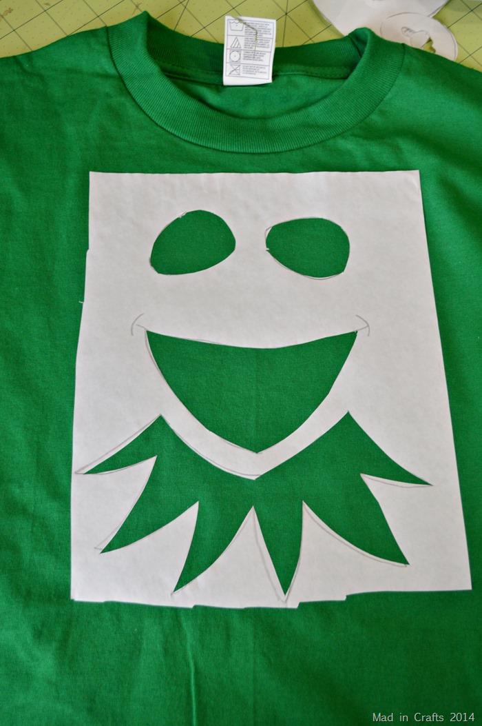 Freezer Paper Kermit