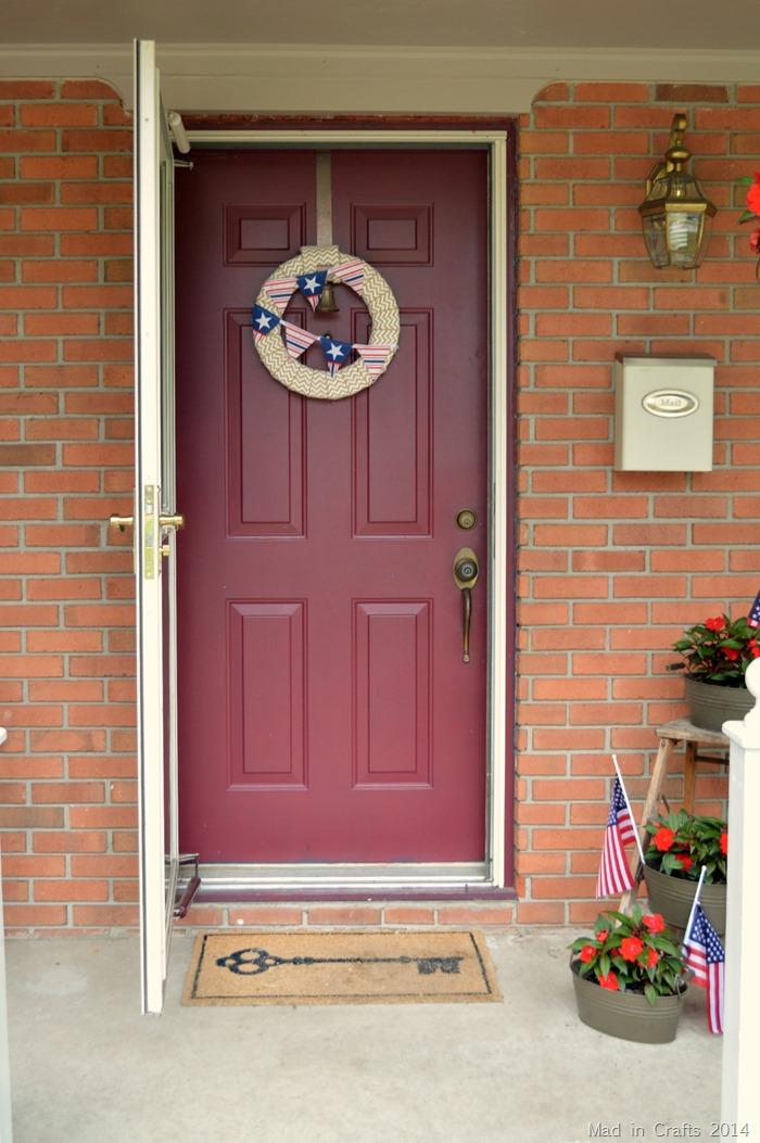 Front Door Color before