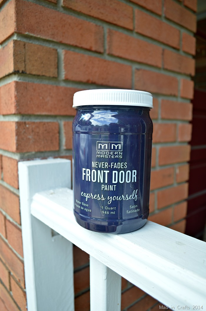 The Magic Of A Painted Front Door Mad In Crafts