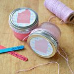 HOMEMADE FRUITY BODY SCRUB GIFT