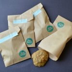 STAMPED KRAFT PAPER TREAT BAGS