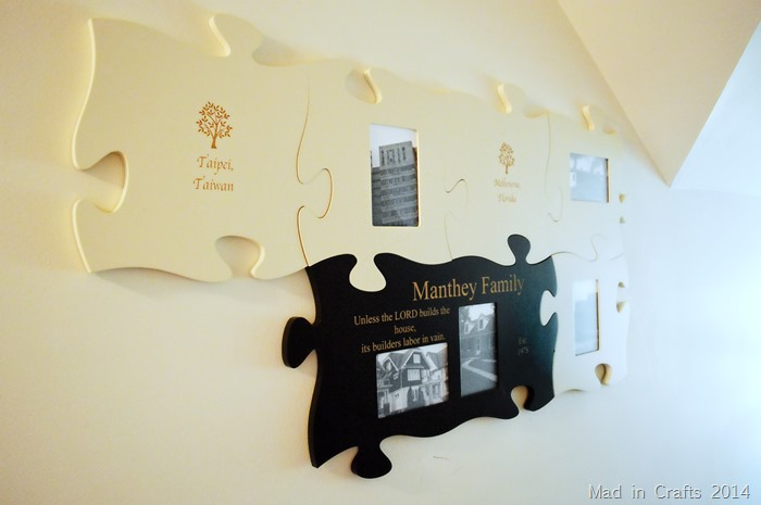 Puzzle Piece Photo Gallery Mad In Crafts