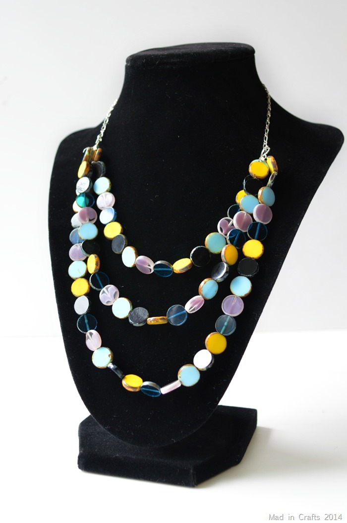 Beginners Layered Bead Necklace