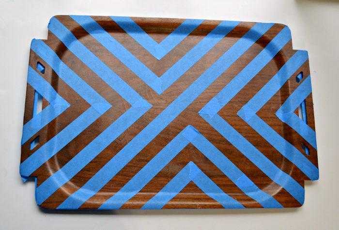 Painter Tape in Pattern
